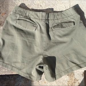 2 Items J Crew & Uniqlo Chino Shorts.
